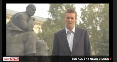 Minsk, Belorussia: Producing and filming for Sky News