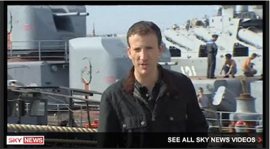 Sevastopol, Crimea: Producing for Sky News